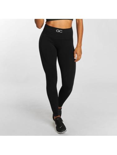 GymCodes Mujeres Legging/Tregging Flex High-Waist in negro