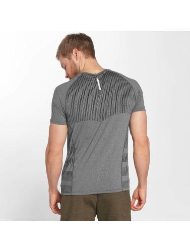 GymCodes Herren T-Shirt Performance in grau