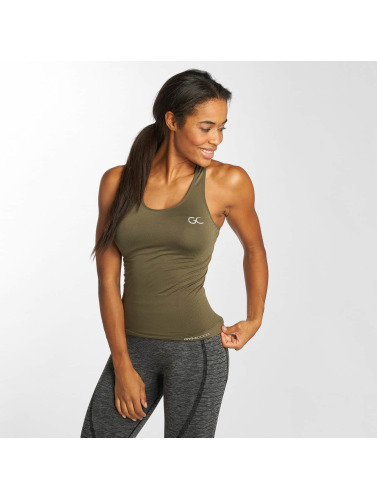 salg hot salg Gymcodes Mujeres Tank Topper Flex I Caqui billig klassiker utløp billig autentisk ebDbz