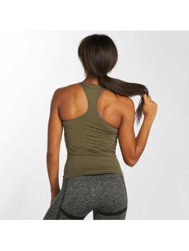 GymCodes Damen Tank Tops Flex in khaki
