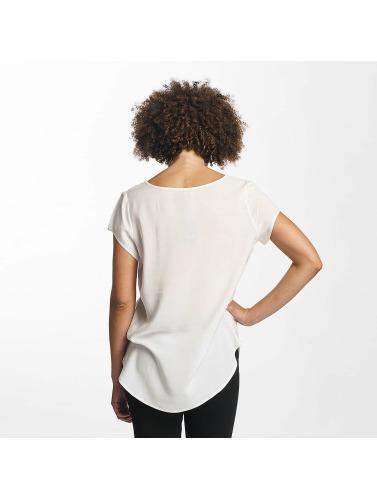 Hailys Mujeres Camiseta Doris in blanco
