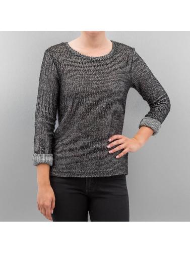 Hailys Damen Pullover Colette in grau