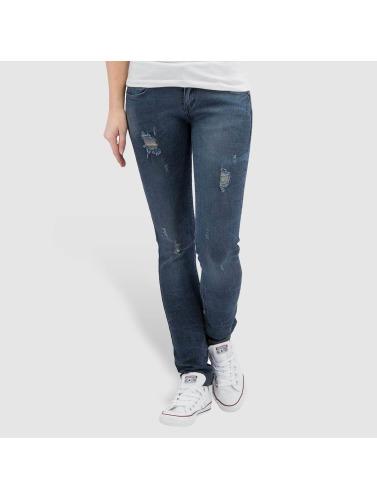Hailys Damen Skinny Jeans Alyssa in blau
