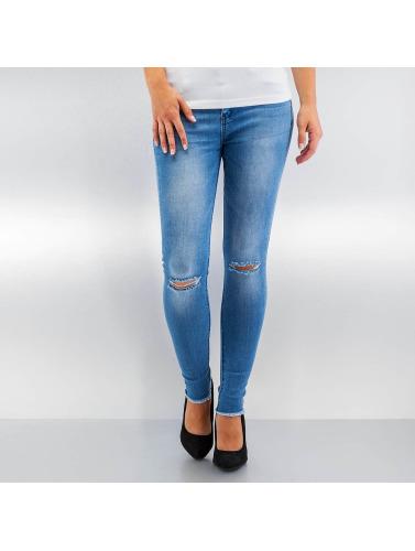 Hailys Damen Skinny Jeans Ina in blau