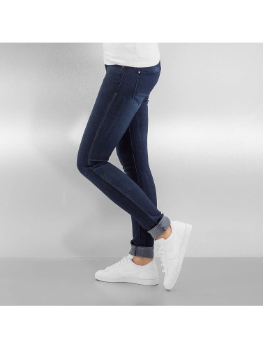 Hailys Damen Skinny Jeans Chiara in blau