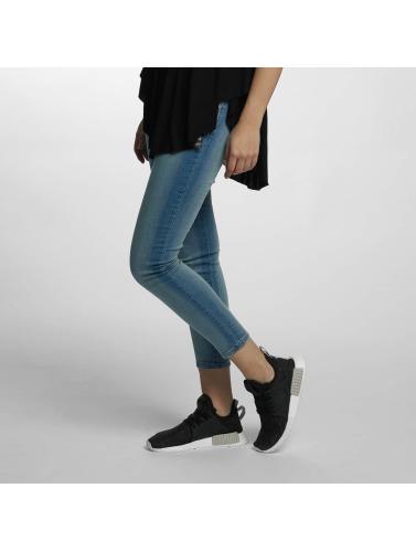 Hailys Damen Skinny Jeans Jane in blau