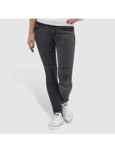 Hailys Damen Skinny Jeans Ines in grau