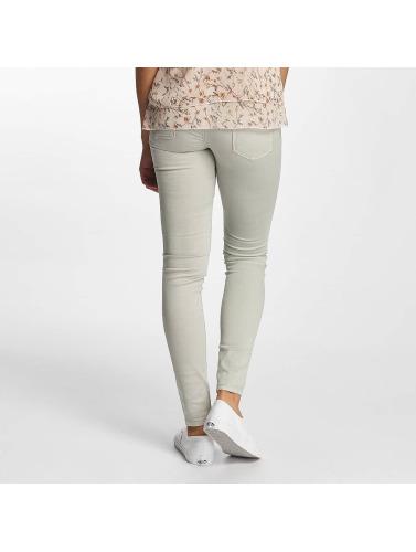 Hailys Damen Skinny Jeans Kina Biker in grau
