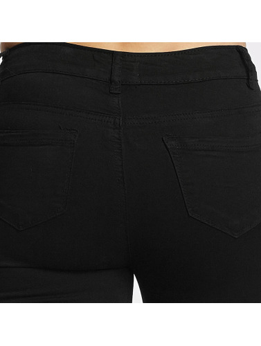 Hailys Damen Skinny Jeans Netty in schwarz