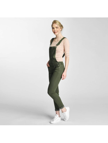 Hailys Damen Slim Fit Jeans Conie in khaki