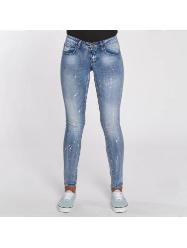 salg Rimelig Hailys Kvinner I Blå Skinny Jeans Splashy billig salg profesjonell NWt4ctHy