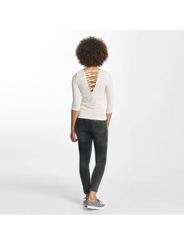 Hailys Kvinners Skinny Jeans I Svart Sari Roser billige priser pålitelig mange farger 3CyQb