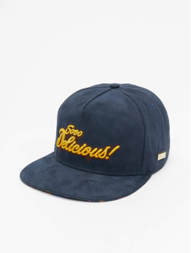 Hands of Gold Snapback Cap Soo Delicious in blau