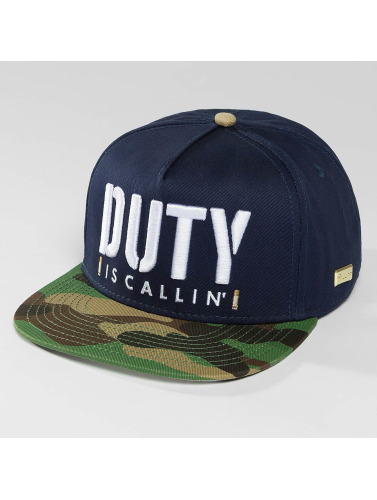 Hands of Gold Snapback Cap Is Callin in blau