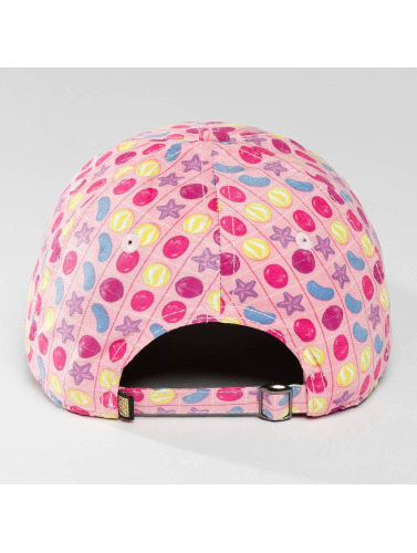 Hands of Gold Snapback Cap Soo Delicious Curved in pink