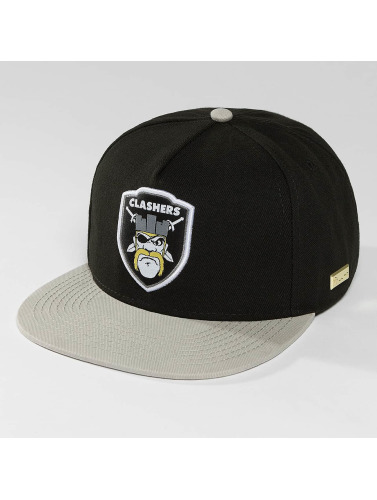 Hands of Gold Snapback Cap Clashers Cap in schwarz