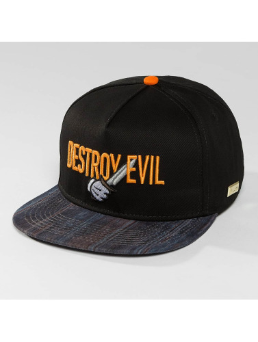 Hands of Gold Snapback Cap Destroy Evil in schwarz