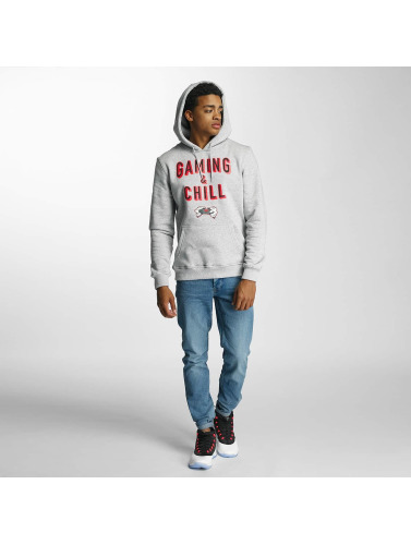 Hands of Gold Hombres Sudadera Chillin in gris