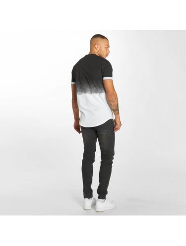 Hechbone Hombres Camiseta Roses in blanco