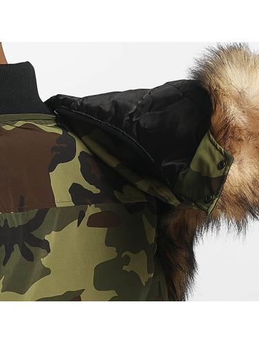Hechbone Hombres Chaqueta de invierno Toronto in camuflaje