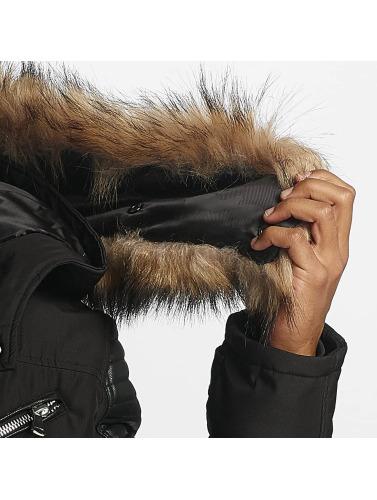 Hechbone Hombres Chaqueta de invierno Napoli in negro