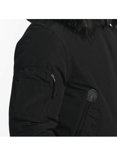 Hechbone Hombres Chaqueta de invierno Police in negro