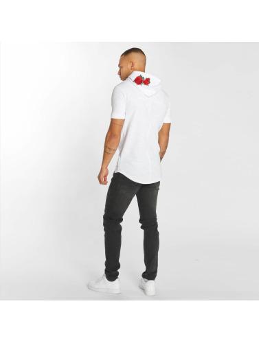 Hechbone Herren T-Shirt Roses in weiß