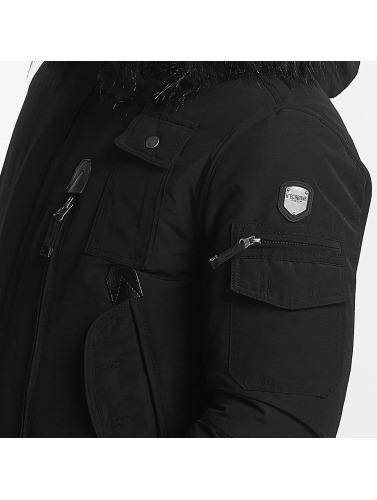 Hechbone Herren Winterjacke Police in schwarz