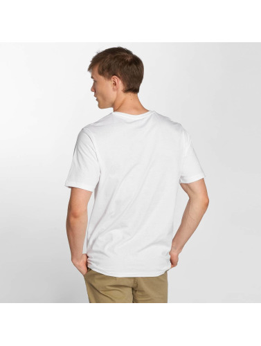 Helly Hansen Hombres Camiseta Logo in blanco