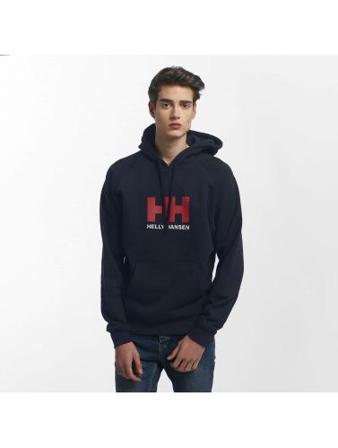 Helly Hansen Herren Hoody Logo in blau