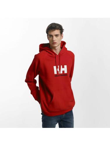 Helly Hansen Herren Hoody Logo in rot