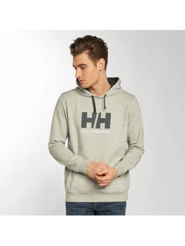 Helly Hansen Hombres Sudadera Logo in gris
