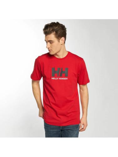 Helly Hansen Herren T-Shirt Logo in rot