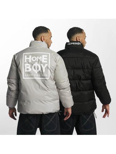 Homeboy Hombres Harvey acolchadas Dent Logo New negro Chaquetas in School gxwnrfw