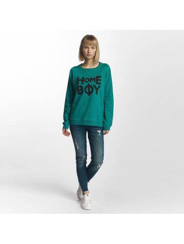 Homeboy Damen Pullover Berlin in türkis