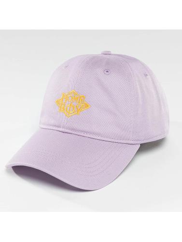 Homeboy Snapback Cap Nappo Logo in violet