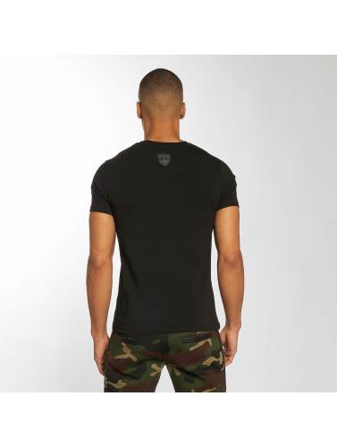 Horspist Hombres Camiseta Raoul in negro