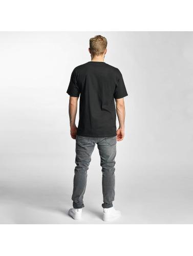 HUF Hombres Camiseta Bar Logo in negro