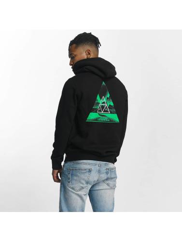 HUF Herren Hoody Dimensions Triangle in schwarz