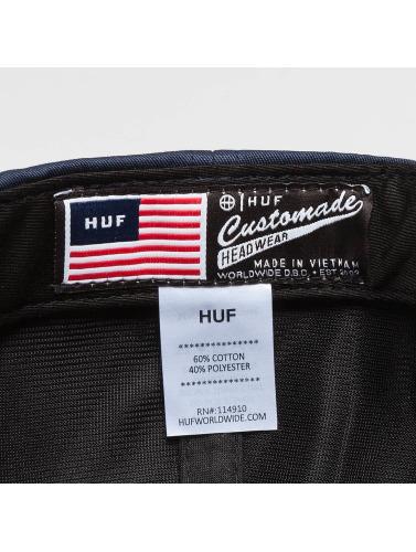 HUF Snapback Cap Box Logo in schwarz