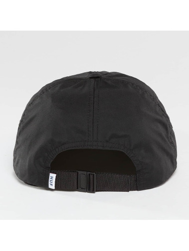 HUF Snapback Cap Formless Triple Triangle in schwarz