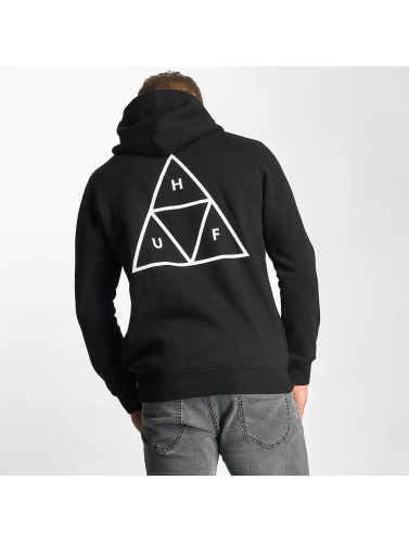 HUF Hombres Sudadera Triple Triangle in negro