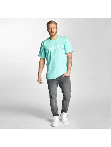 HUF Herren T-Shirt Original Logo in blau