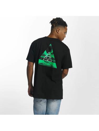 HUF Herren T-Shirt Dimensions Triangle in schwarz