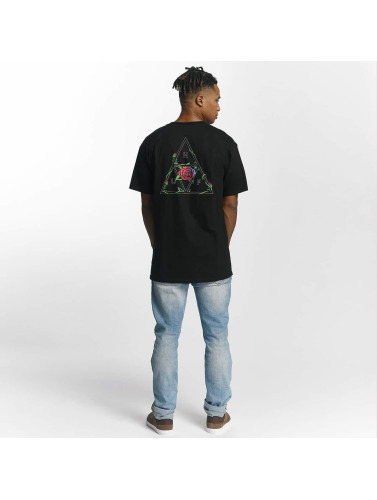 HUF Herren T-Shirt Roses Triple Triangle in schwarz