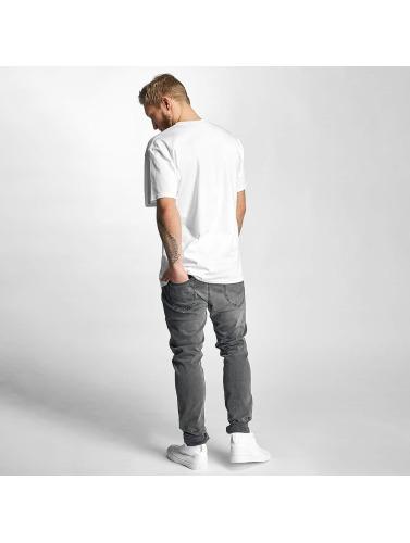 HUF Herren T-Shirt Logo in weiß