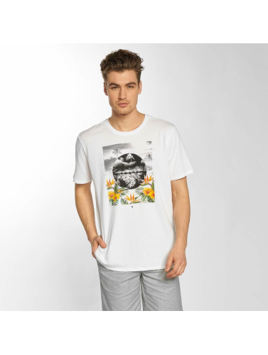 Hurley Hombres Camiseta The Dive Dri-Fit in blanco