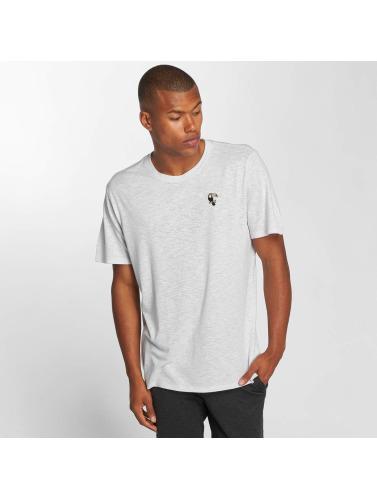 Hurley Hombres Camiseta Toucan Tri-Blend in blanco