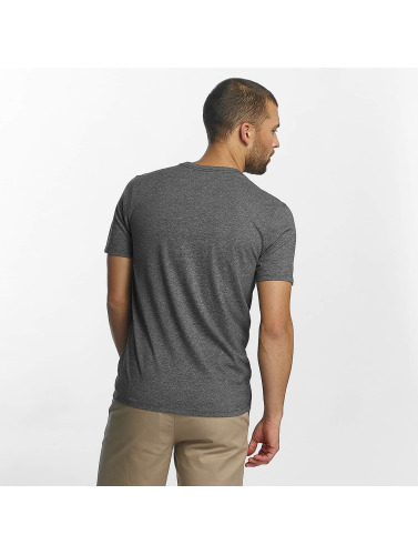 Hurley Hombres Camiseta Circle Icon in gris
