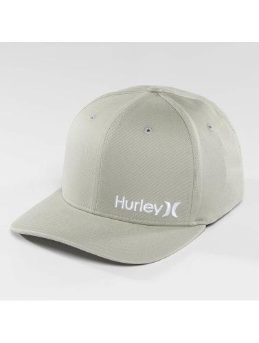 Hurley Flexfitted Cap Corp in grau